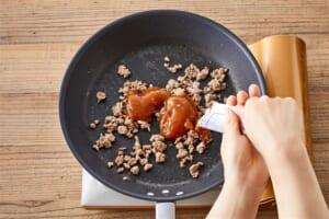 肉そぼろ豆腐の作り方_1_2