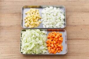 たっぷり野菜のミネストローネ<塩分控えめ>の作り方_0_1