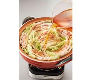 豚バラと白菜の重ね鍋<塩分控えめ>の作り方_1_0