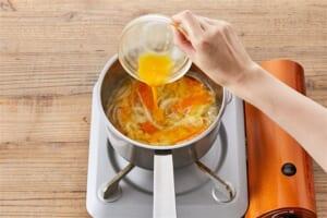 人参とろとろ中華スープ<塩分控えめ>の作り方_1_0