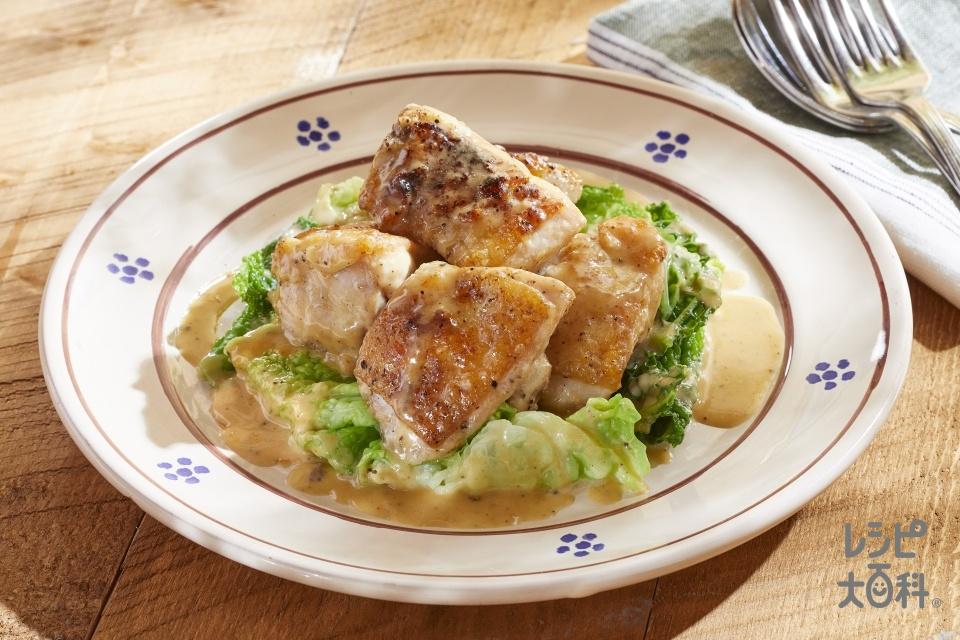 若鶏のビネガーソース(鶏もも肉+キャベツを使ったレシピ)