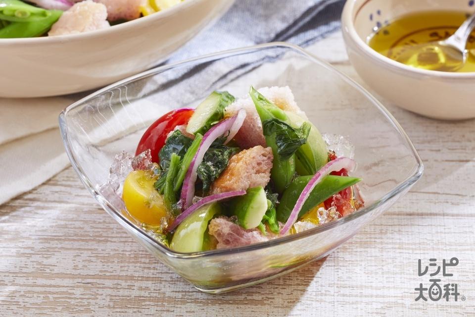 アックア・サーレ(地中海風サラダ)(きゅうり+紫玉ねぎを使ったレシピ)