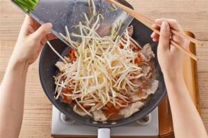 たっぷり野菜の豚キムチの作り方_1_1