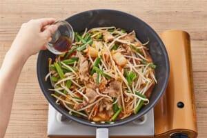 たっぷり野菜の豚キムチの作り方_2_1