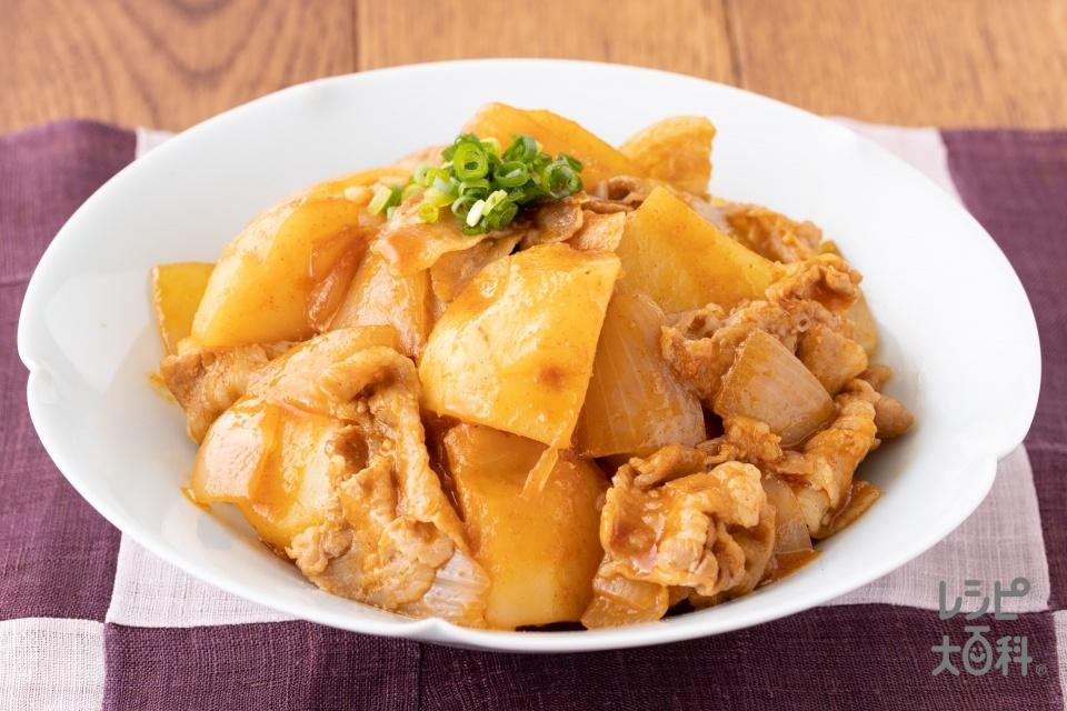 カムジャタン(韓国風豚バラ肉じゃが)