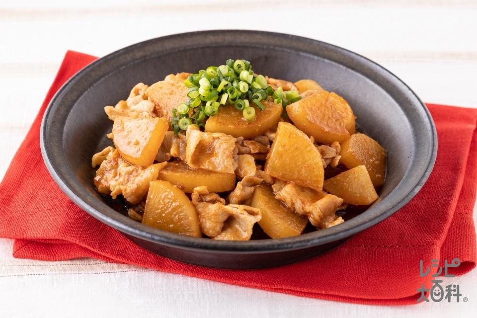 韓国風豚バラ大根