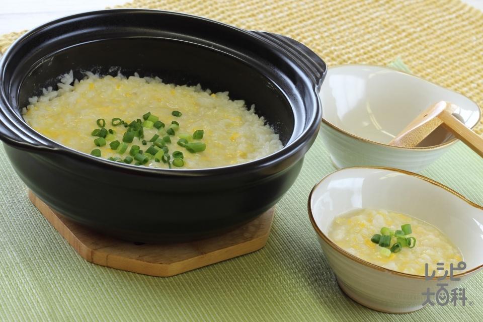 〆の雑炊 リゾット風(ご飯を使ったレシピ)