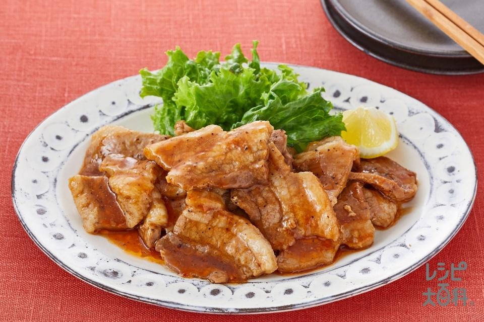 「スチーミー」で!豚バラ肉でも簡単!スペアリブ風(豚バラ肉を使ったレシピ)