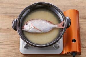 土鍋で作る 今治鯛めしの作り方_2_0
