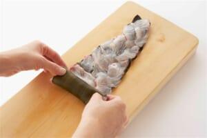 鯛の昆布じめの作り方_1_2