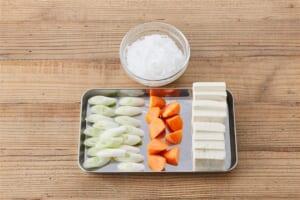豚こま切れ肉で作る肉豆腐の作り方_0_1