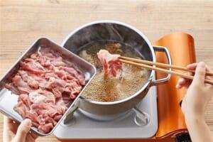 豚こま切れ肉で作る肉豆腐の作り方_2_1
