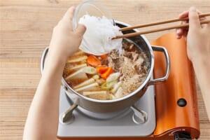 豚こま切れ肉で作る肉豆腐の作り方_3_1