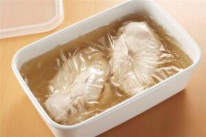 ゆで鶏でチキン南蛮風の作り方_7_0