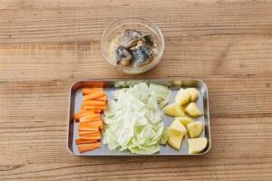 さばとゴロゴロ野菜の絶品汁の作り方_0_1