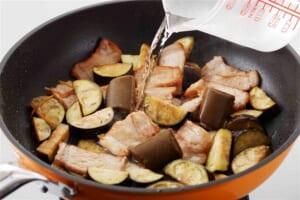 豚肉となすの炒めカレーの作り方_2_1
