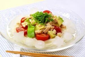 さっぱり冷製スープそうめんの作り方_4_0