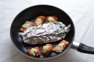 鮭のペッパーマヨネーズ焼きの作り方_3_1