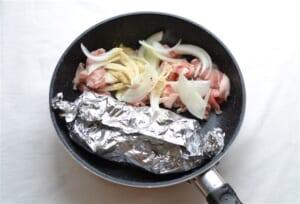 豚肉とミニトマトの中華炒めとしめじのマヨネーズ和えの作り方_2_1