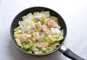 白菜と海鮮の中華丼の作り方_1_1