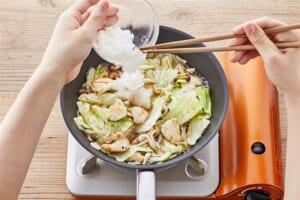 鶏ささみとキャベツのみぞれ煮の作り方_1_1