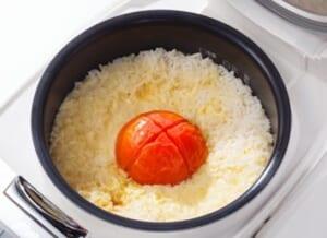 丸ごとトマトの炊き込みピラフの作り方_3_1