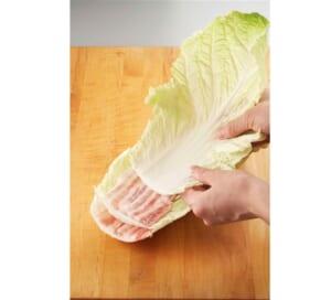 豚バラと白菜の重ね鍋<塩分控えめ>の作り方_0_1