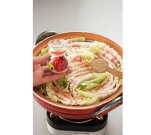 豚バラと白菜の重ね鍋<塩分控えめ>の作り方_1_1